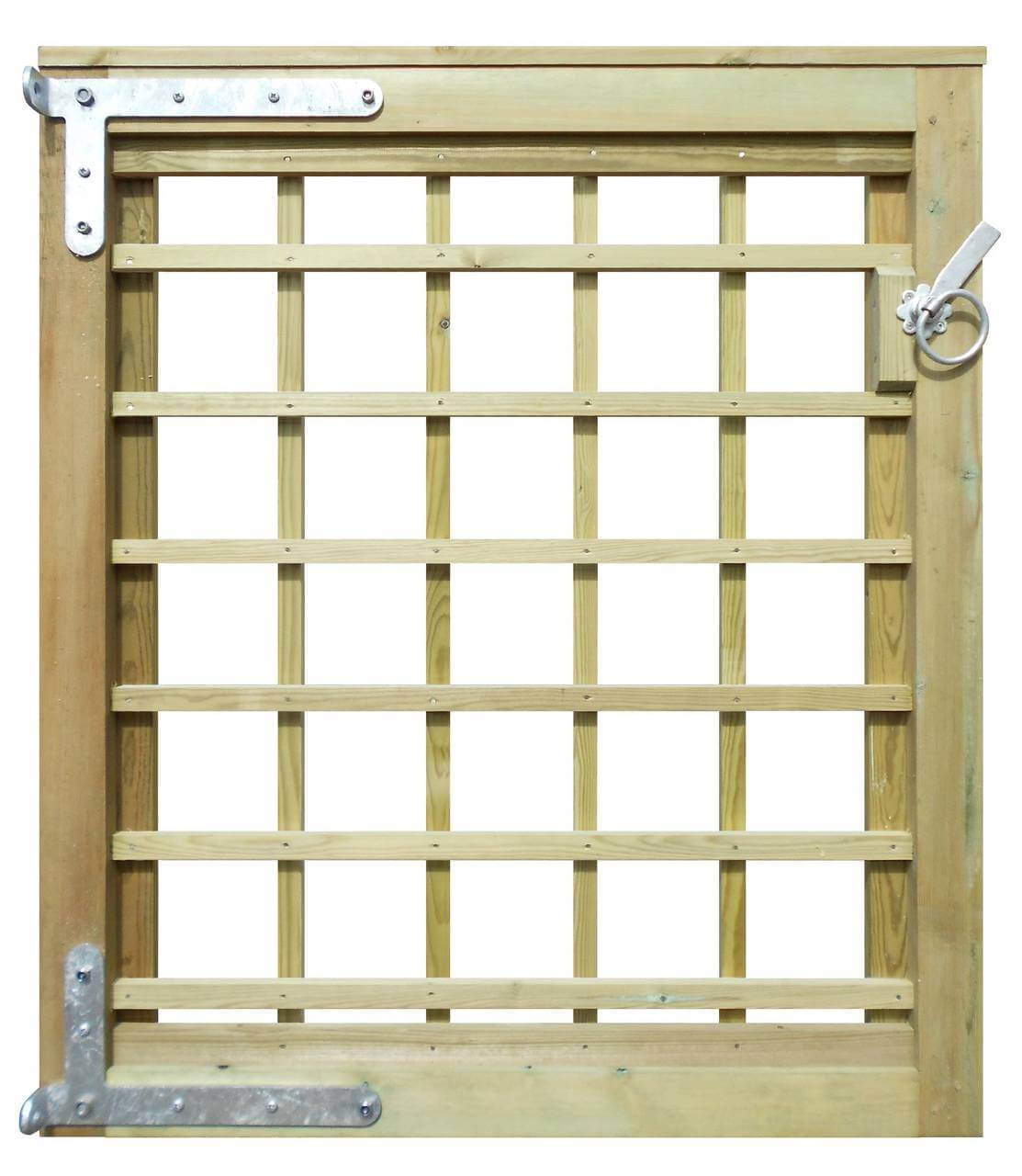 639300 1150 High std Trellis Gate back