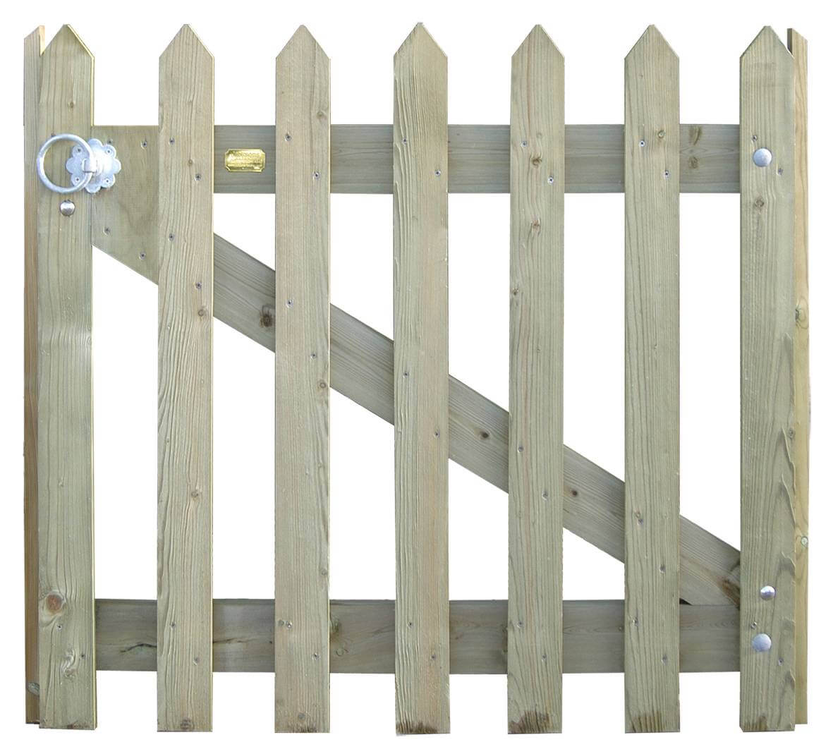 222700BM - palisade pointed top gate