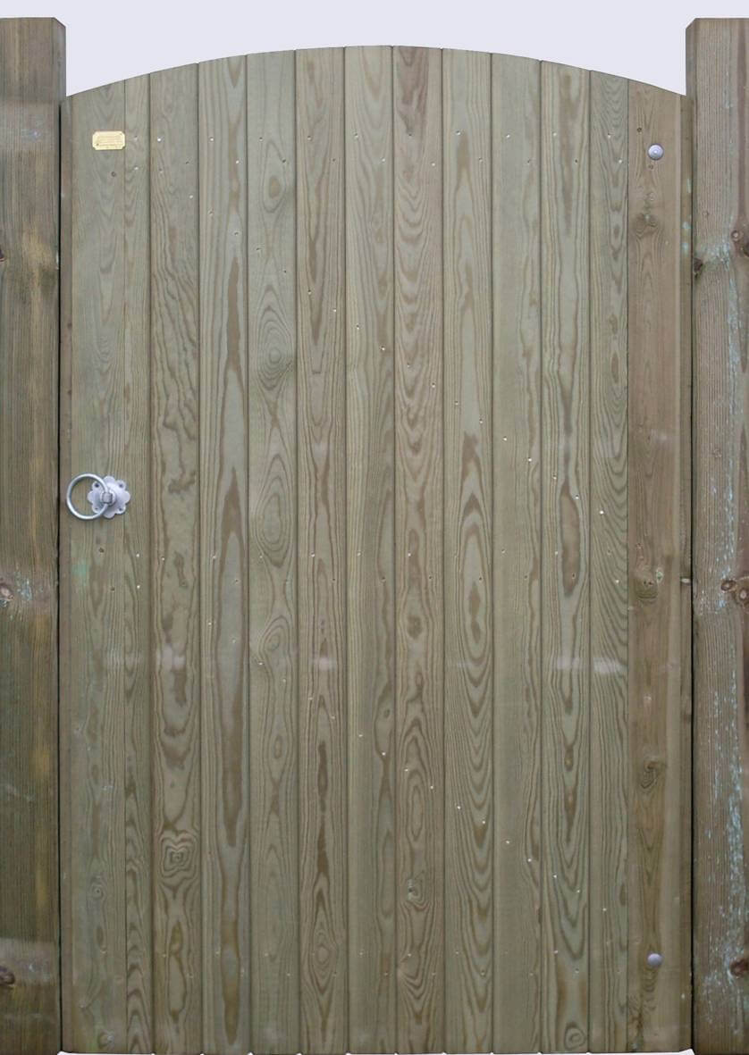 Brabroune Arched Wooden Gate Set Jacksons Fencing