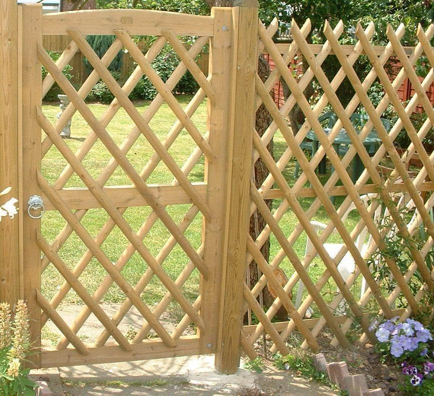 Jaktop Garden Gate and Fence