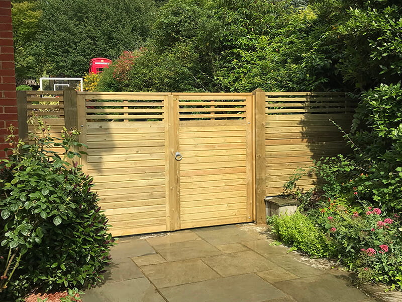 Canterbury Combi double gate
