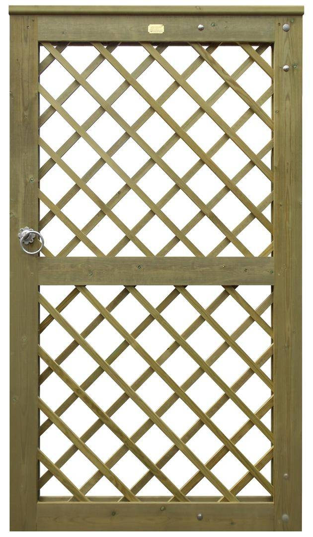 Diamond Trellis Gate
