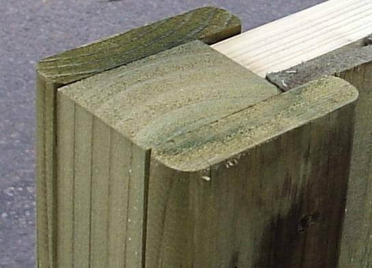 Slotted End Post