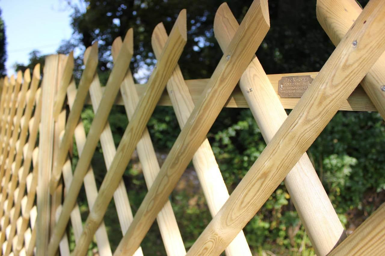 Jaktop criss cross fence panels jacksons fencing