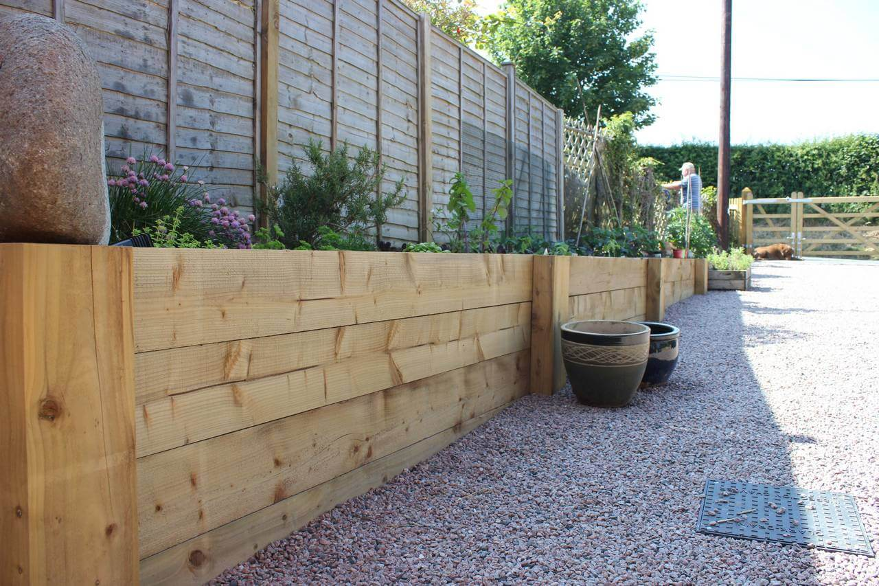 Garden Sleepers Timber Sleepers Jacksons Fencing