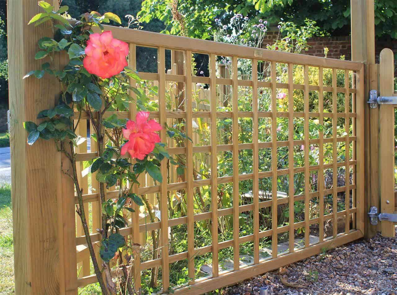 trellis fence panels jacksons fencing