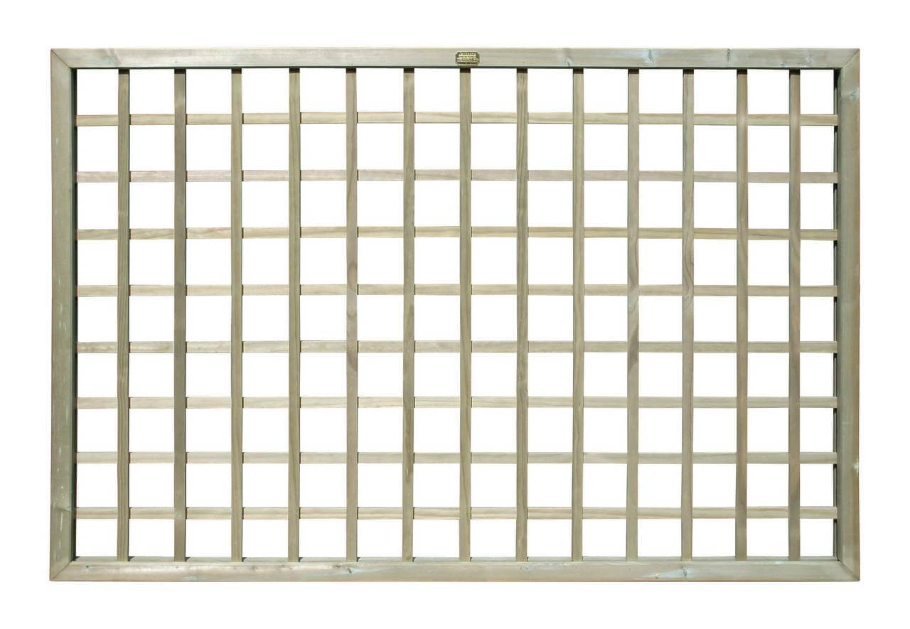 740800 - Timber Square Trellis