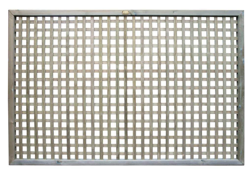750800 - 119m lattice Trellis Fence Panel