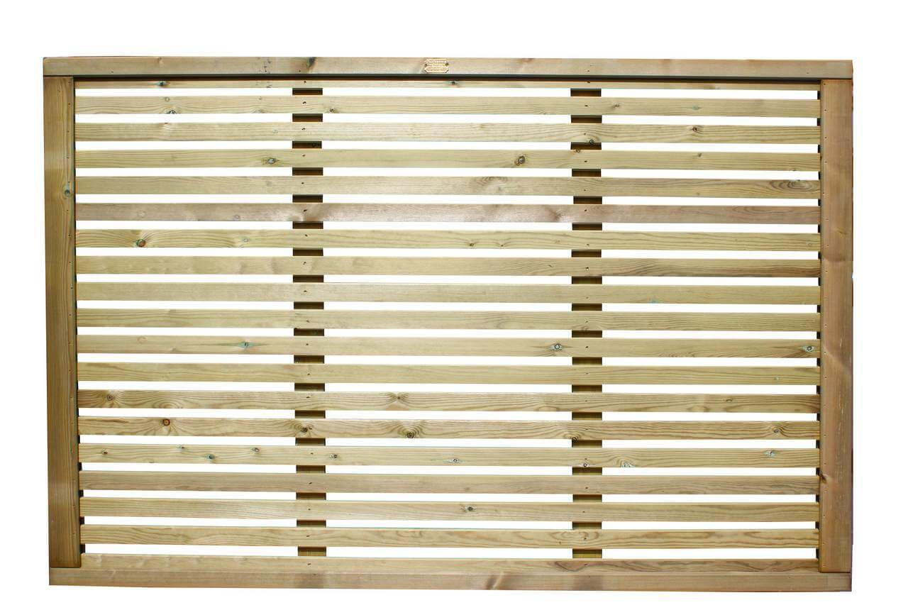 Venetian fence panel 1200mm high