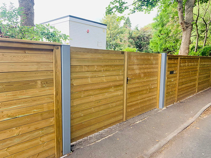 Acoustic fencing and gates
