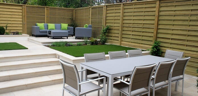 Hampstead Garden fencing