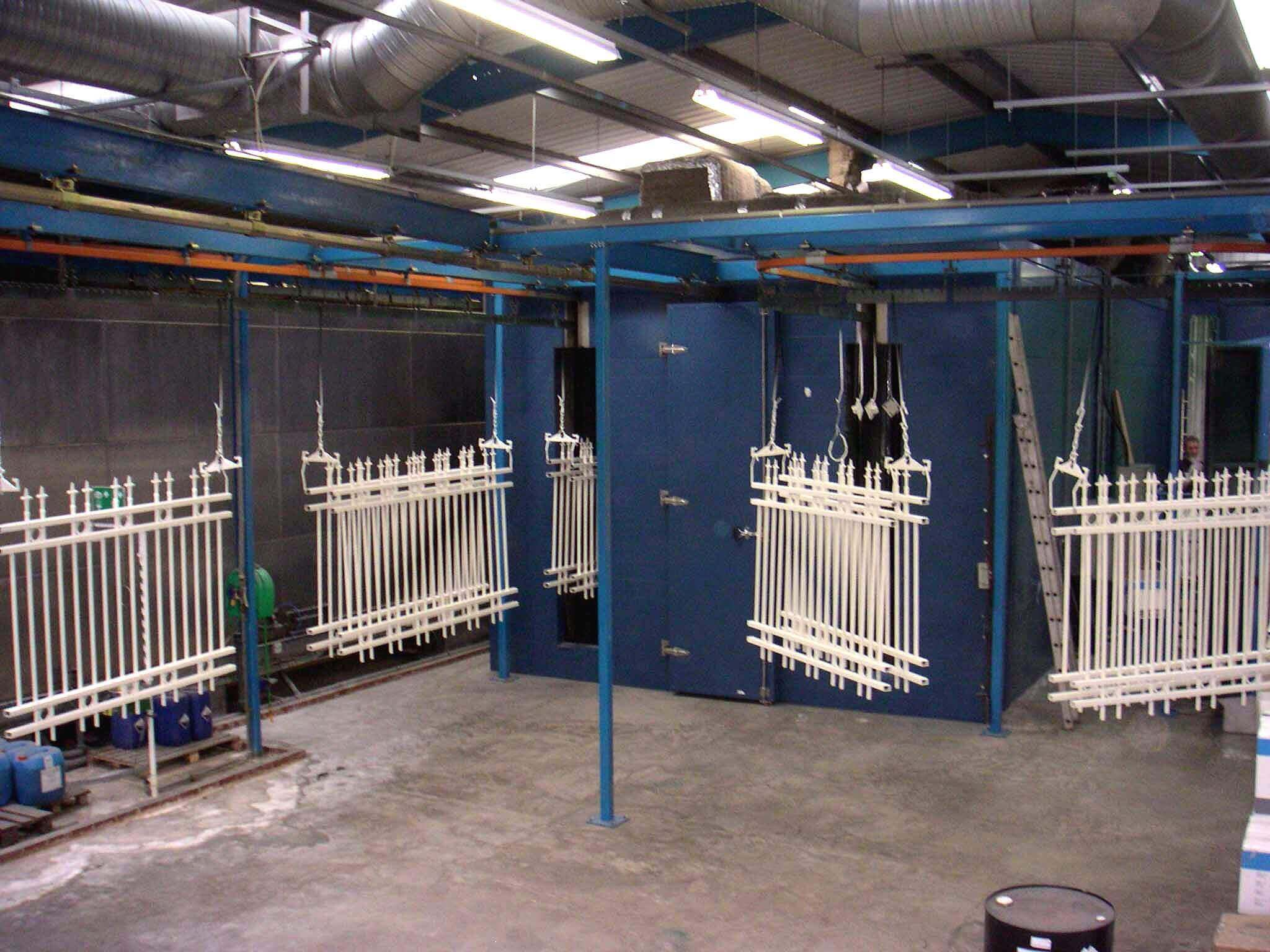 Powder coating plant 2003