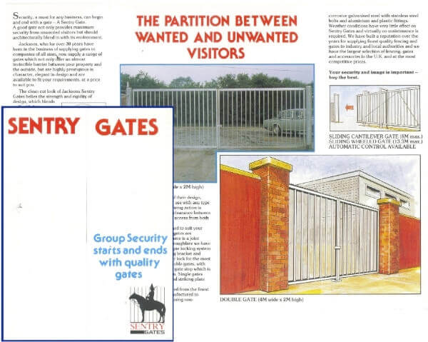 Security Gate 1980s