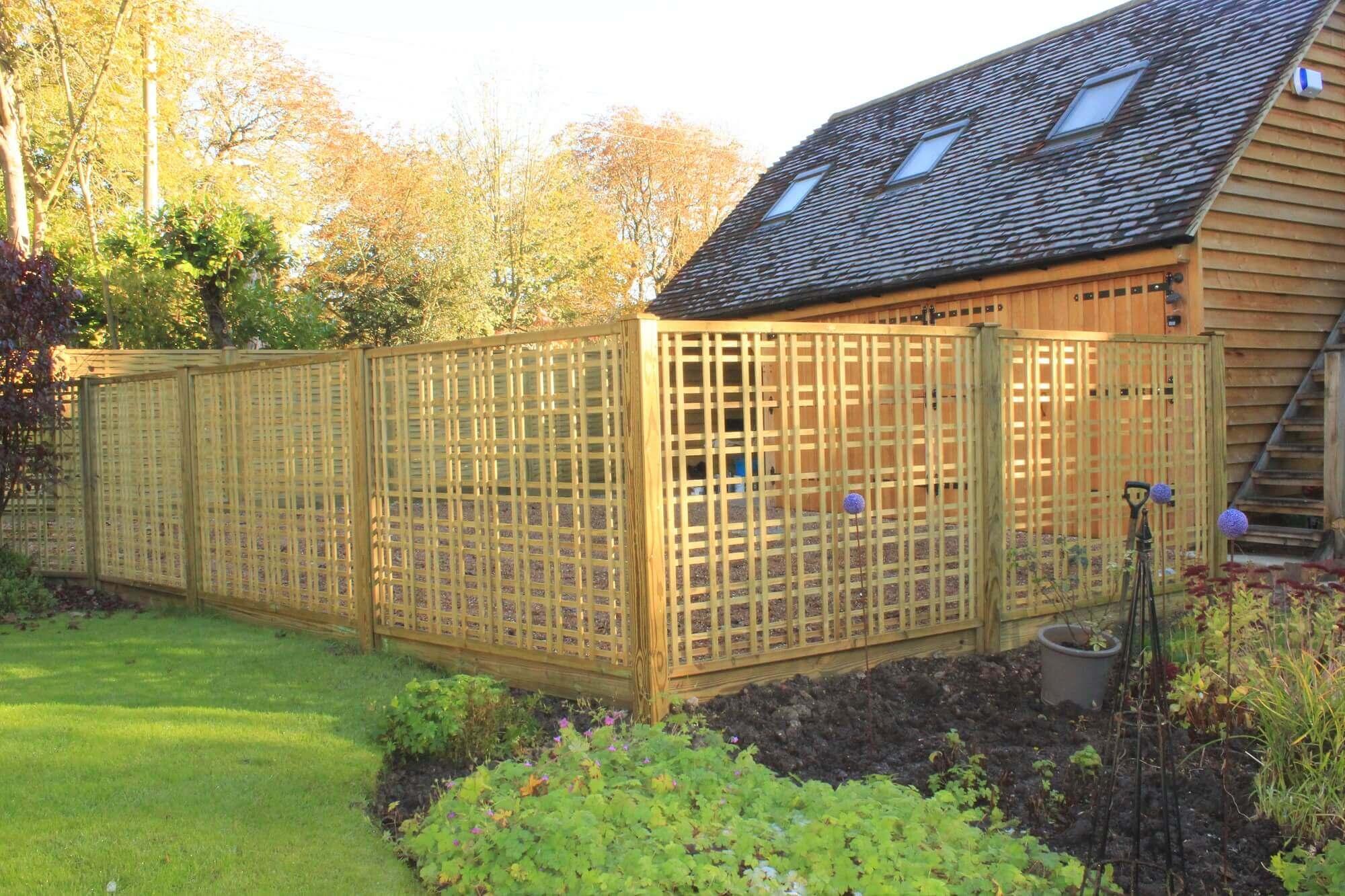 garden trellis trellis fence panels jacksons fencing. Black Bedroom Furniture Sets. Home Design Ideas
