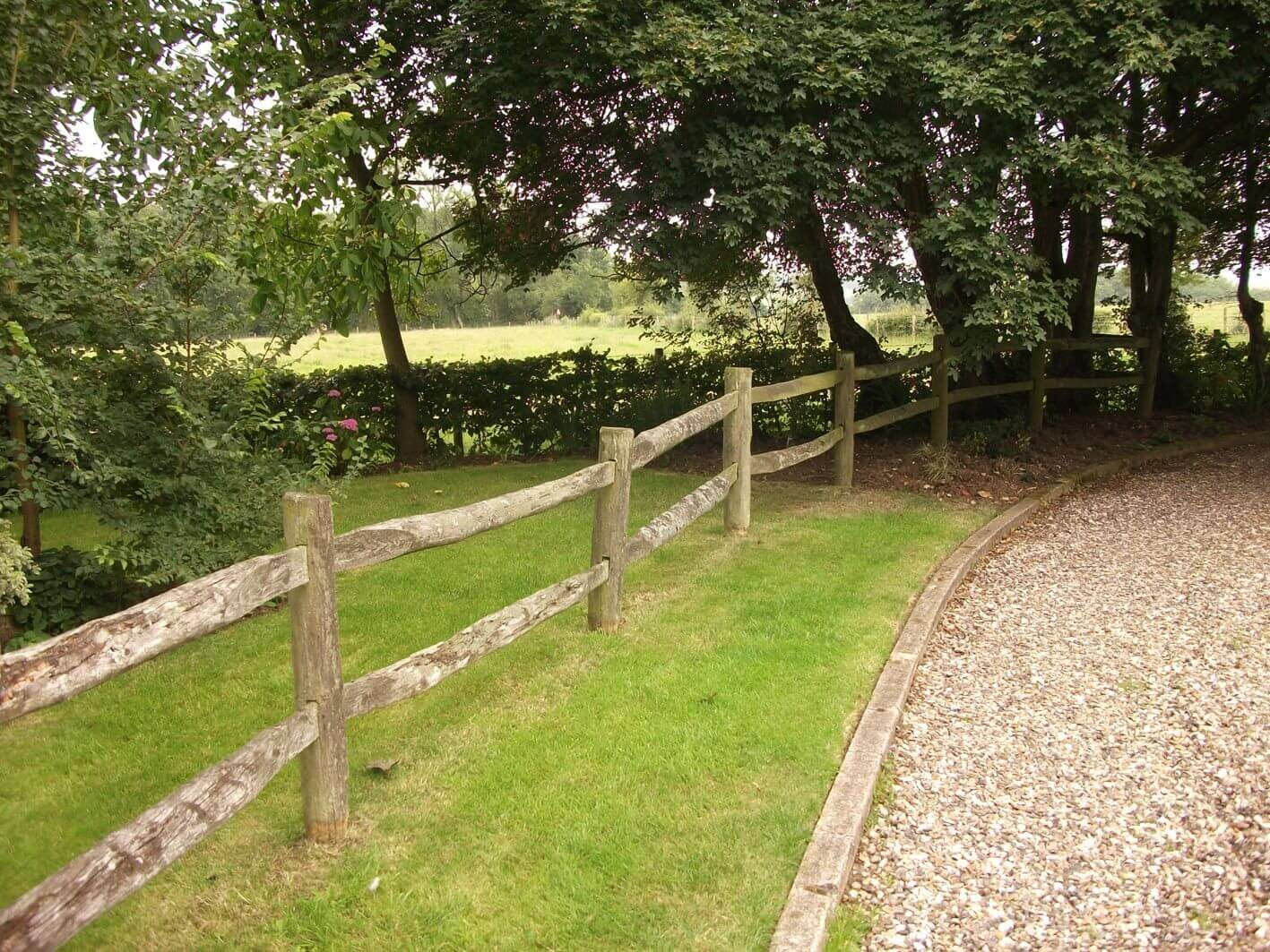 Quality long lasting post and rail fencing