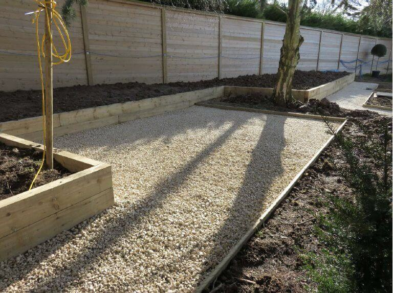 raised beds and Acoustic fencing