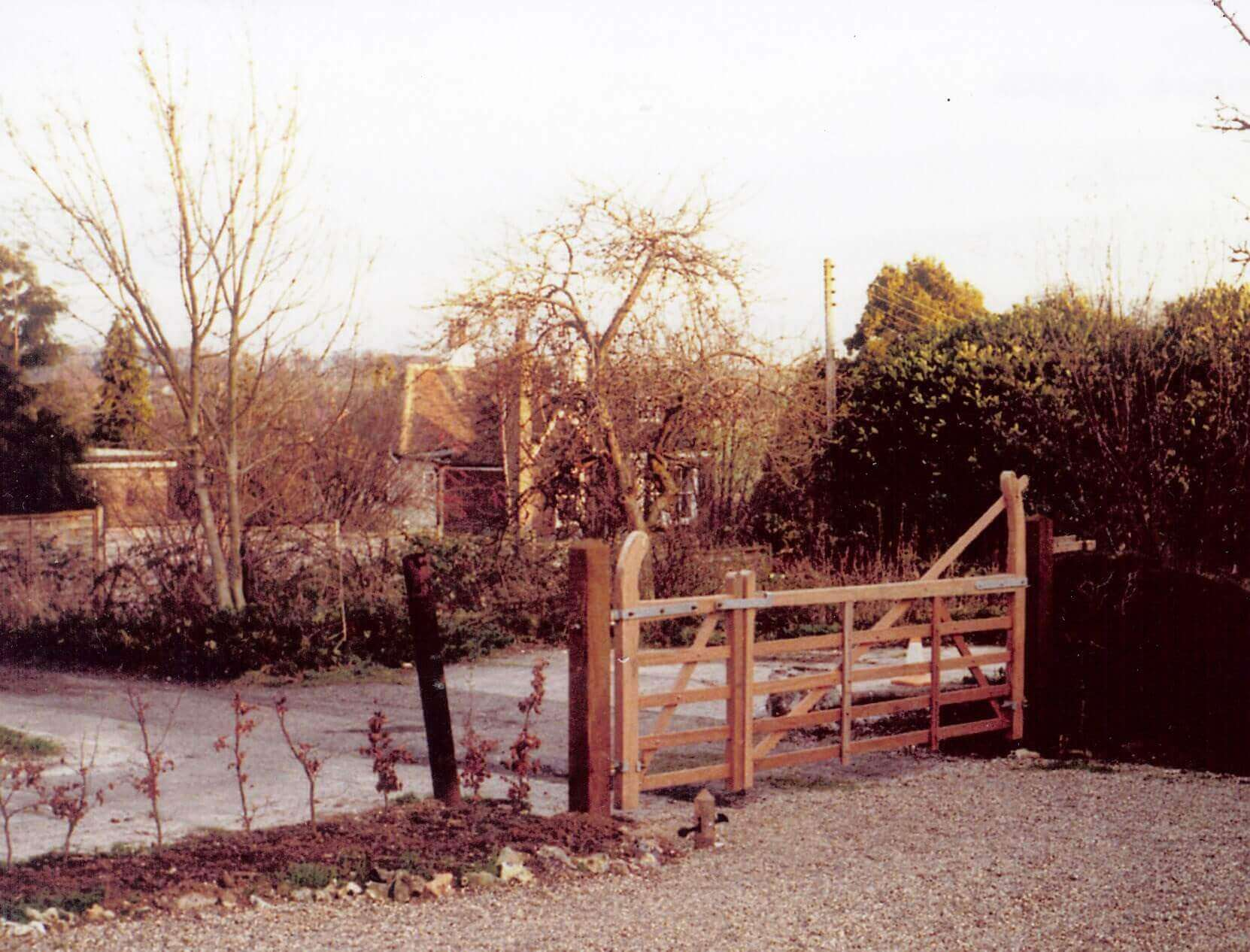 Jacksons entrance gate in 1982