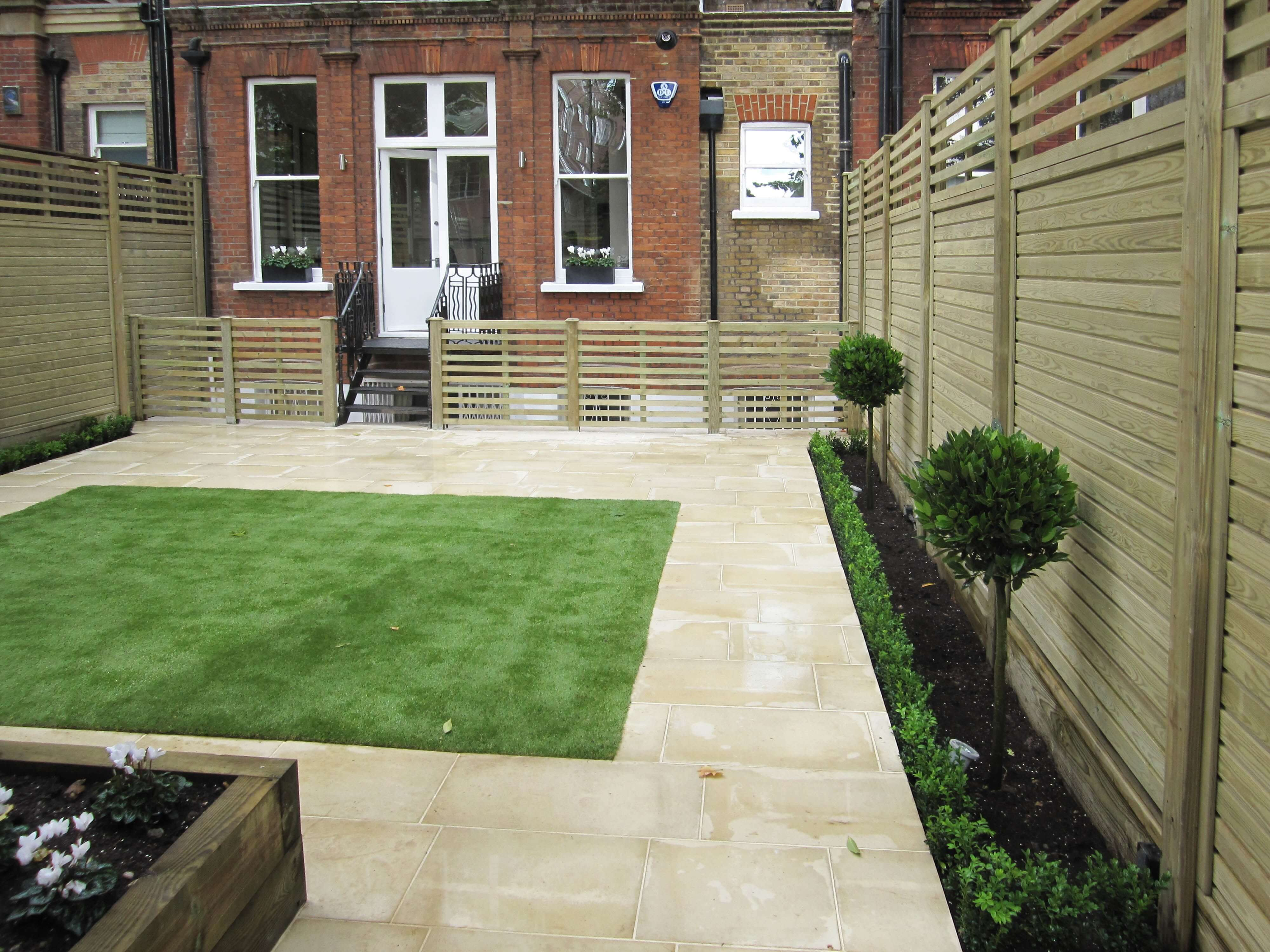 New contemporary garden