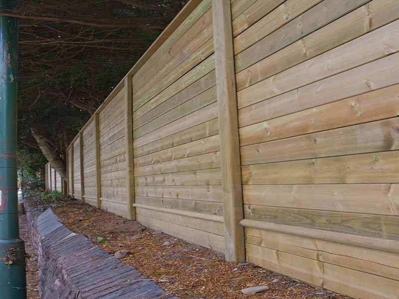 acoustic fence design