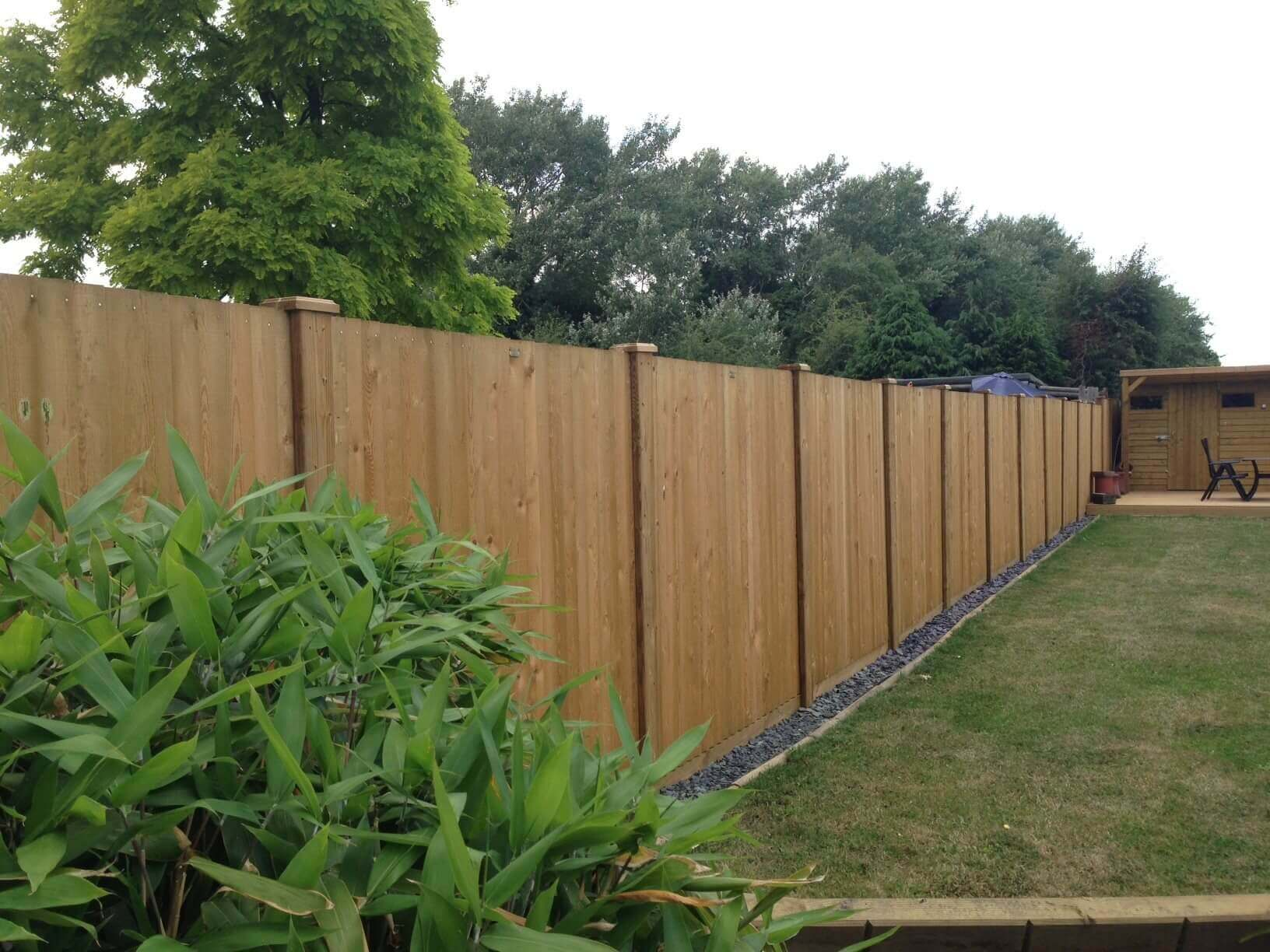 Fence Panels and Slotted Fence Posts