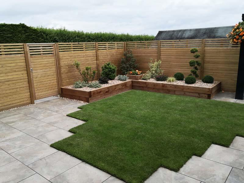 timber gardne fence panels