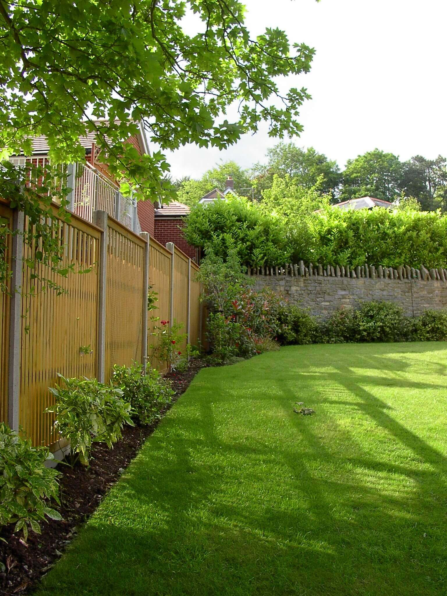 Paliframe fence panels