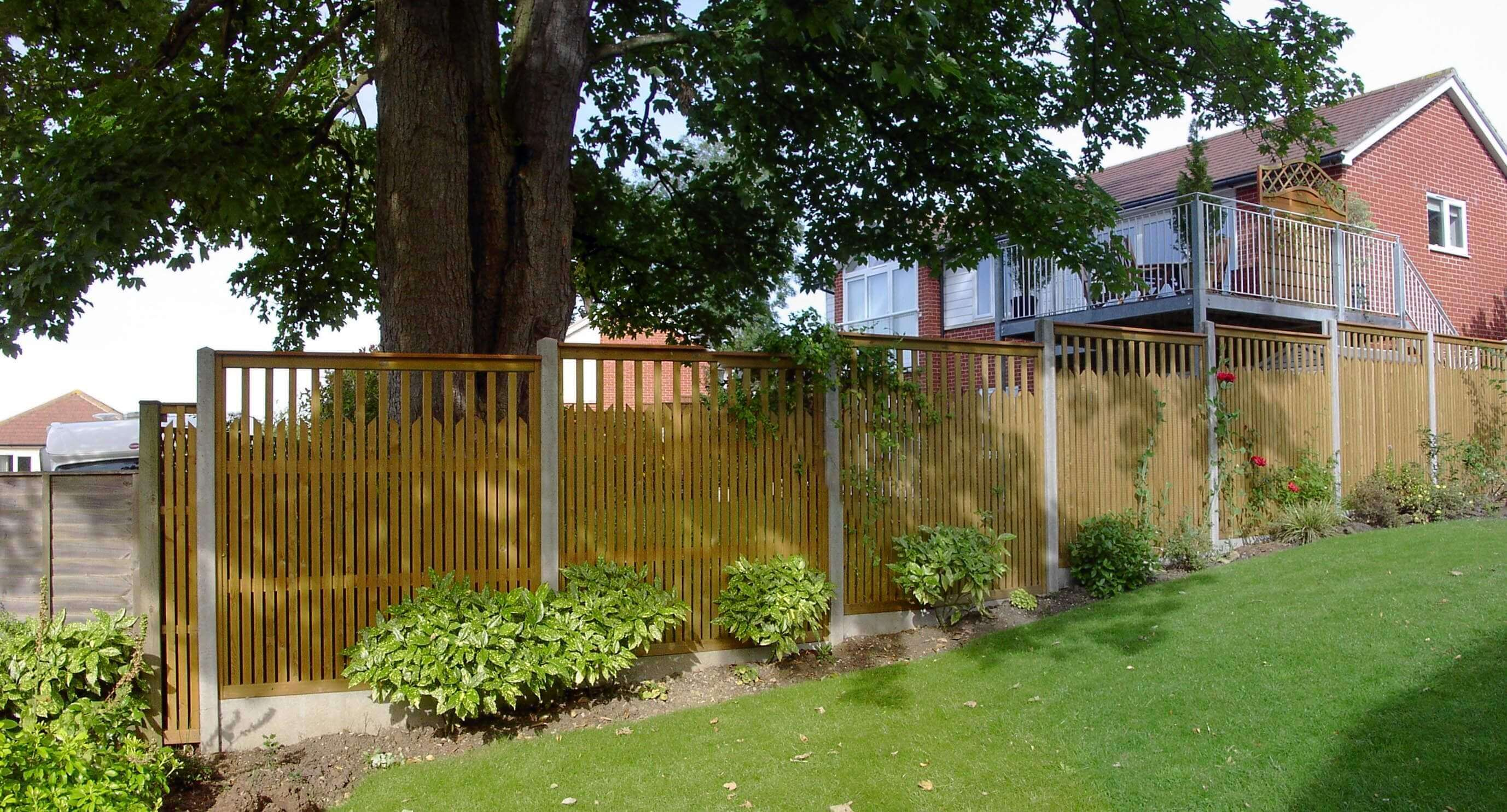 semi transparent Paliframe fence panels