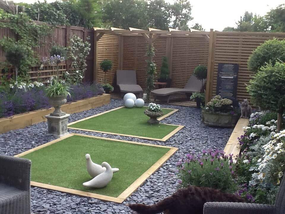 gorgeous garden design inspired by shadow garden