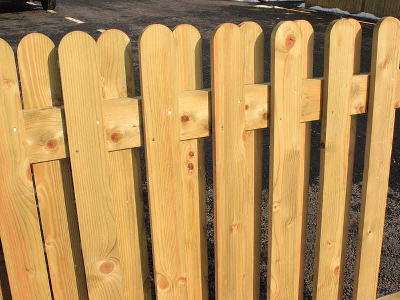 different styles of picket fencing