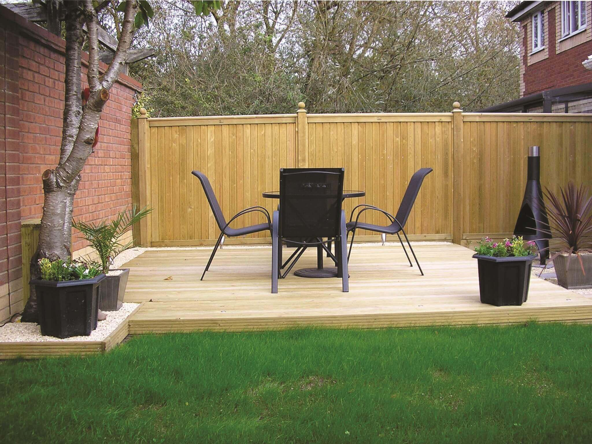 Tongue and Groove effect panels and decking