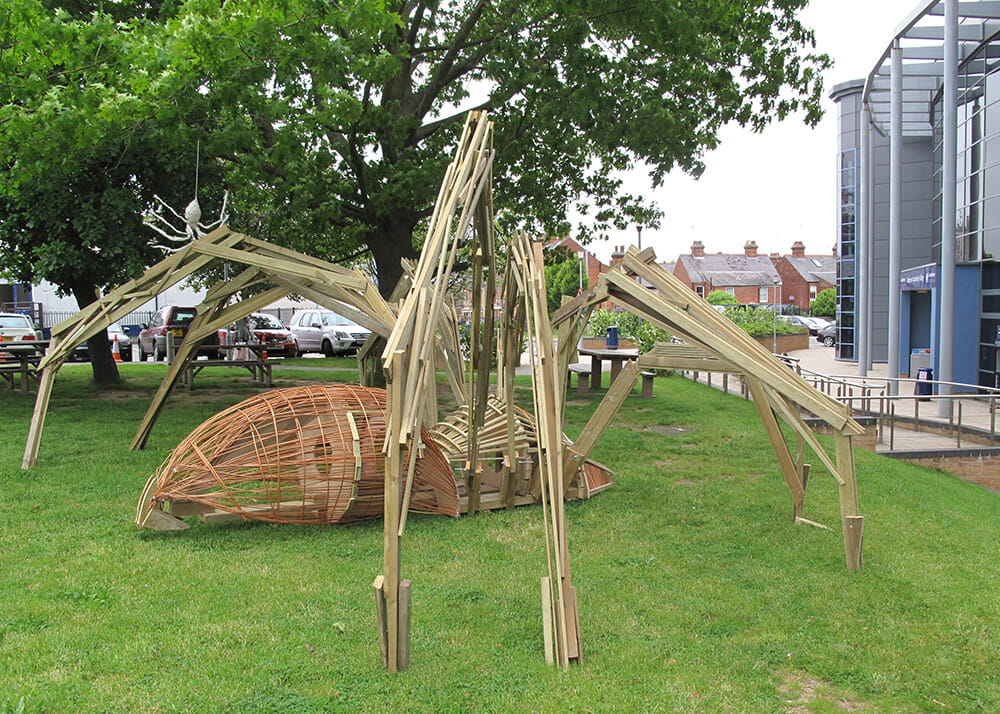 Jacksons Fencing timber sculpture