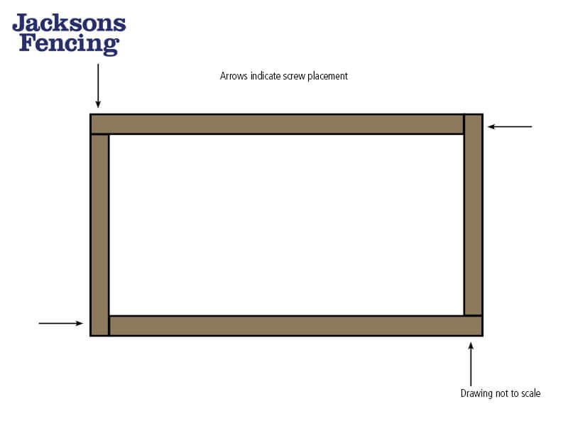 How to build a raised garden bed with sleepers add screws
