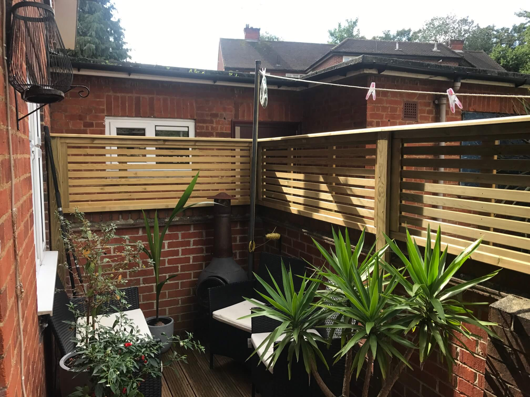increasing sunlight in your garden with fencing