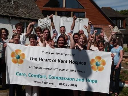 Community challenge Hospice winners