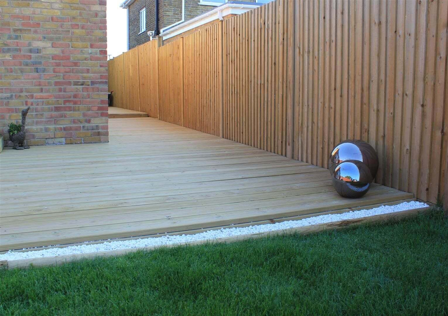 Decking and Featherboard
