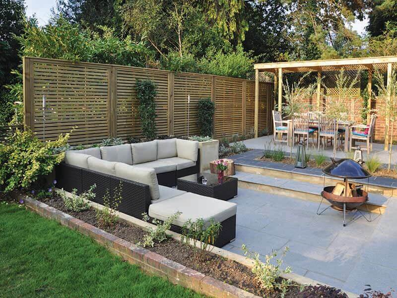 outdoor garden rooms