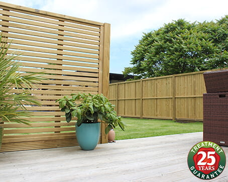 Jacksons Fencing 25 year guarantee