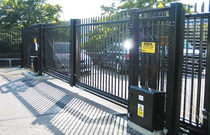 Automated Commercial Gate