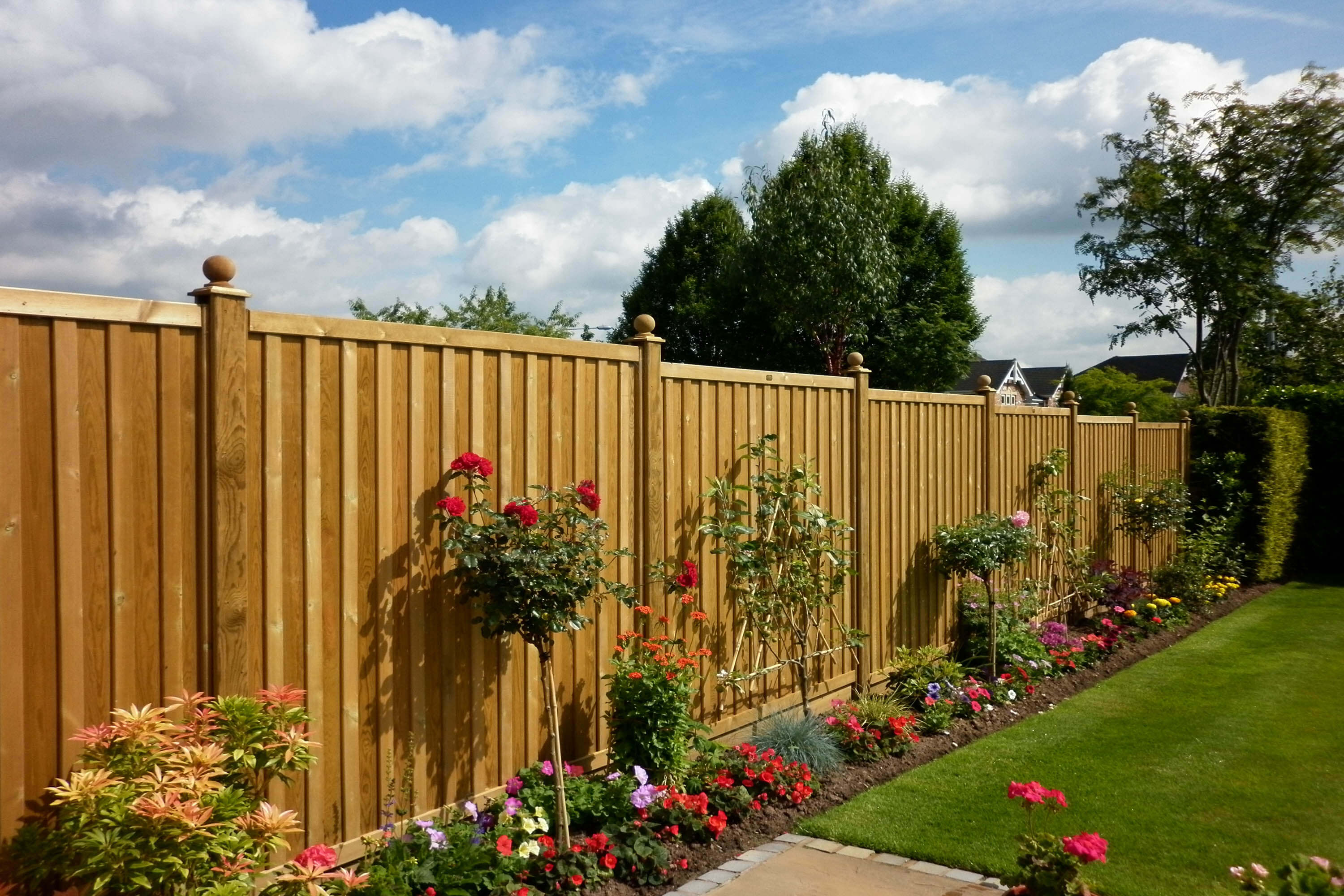 Chilham Fence Panels