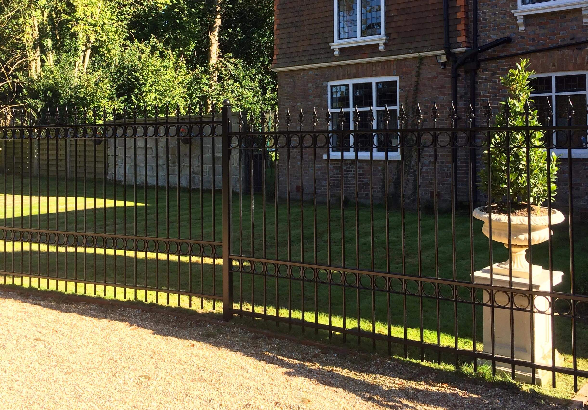 Ornamental Metal Fencing