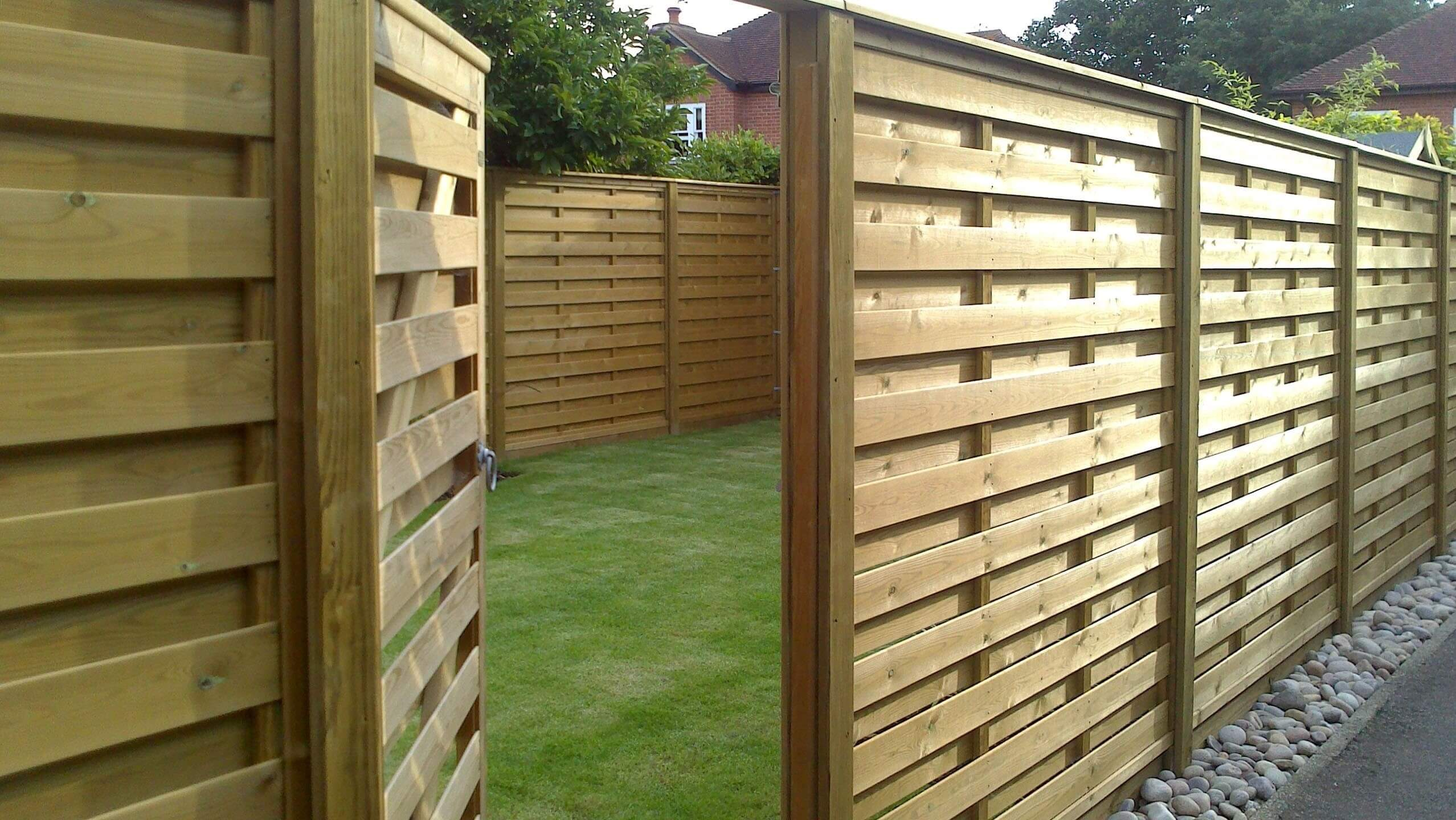 Premium Hit And Miss Fence Panels