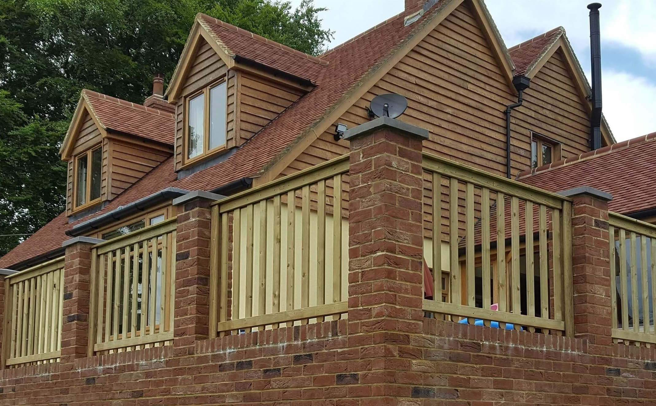 Timber Balustrade Panels