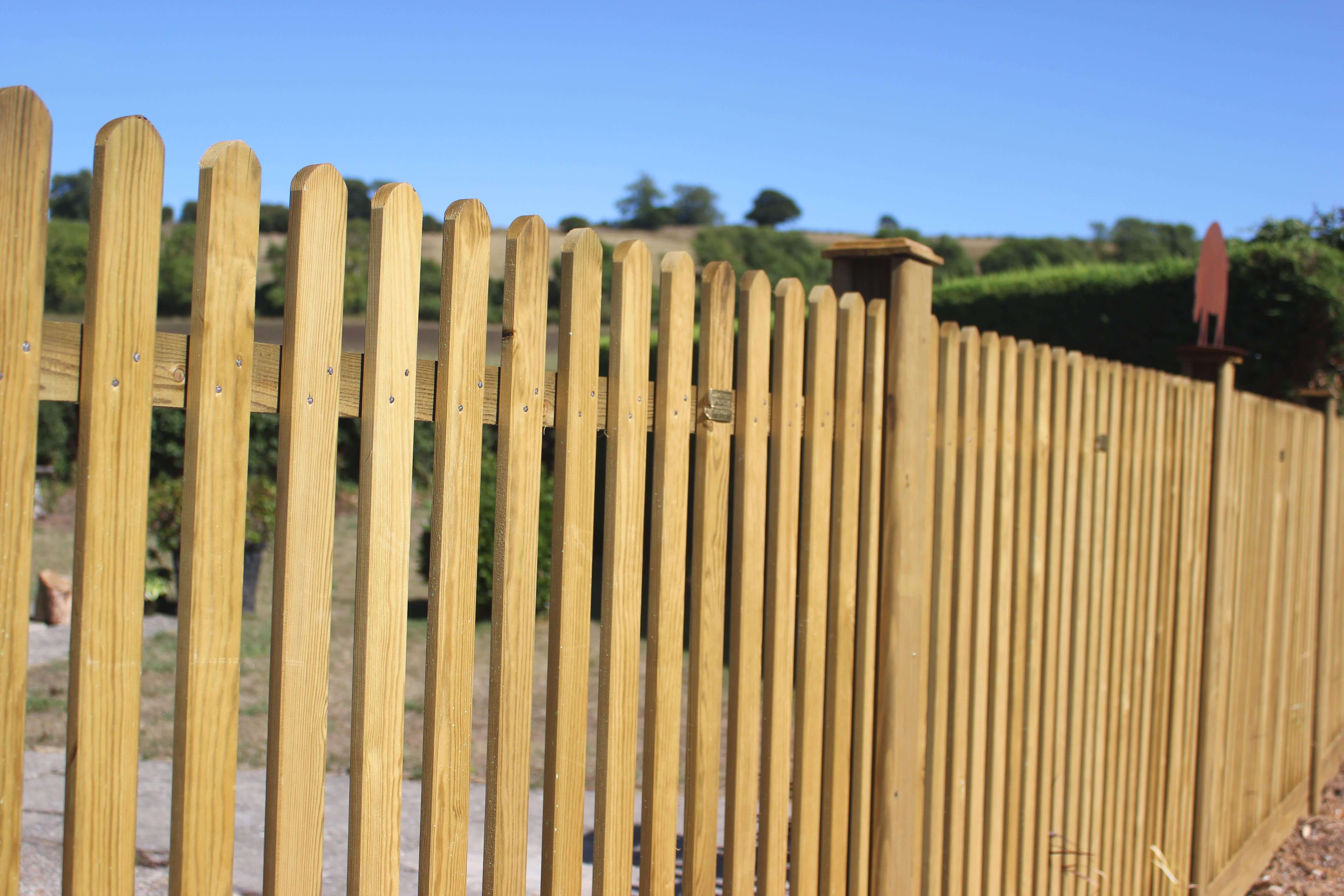 Mitre fence panels Jacksons