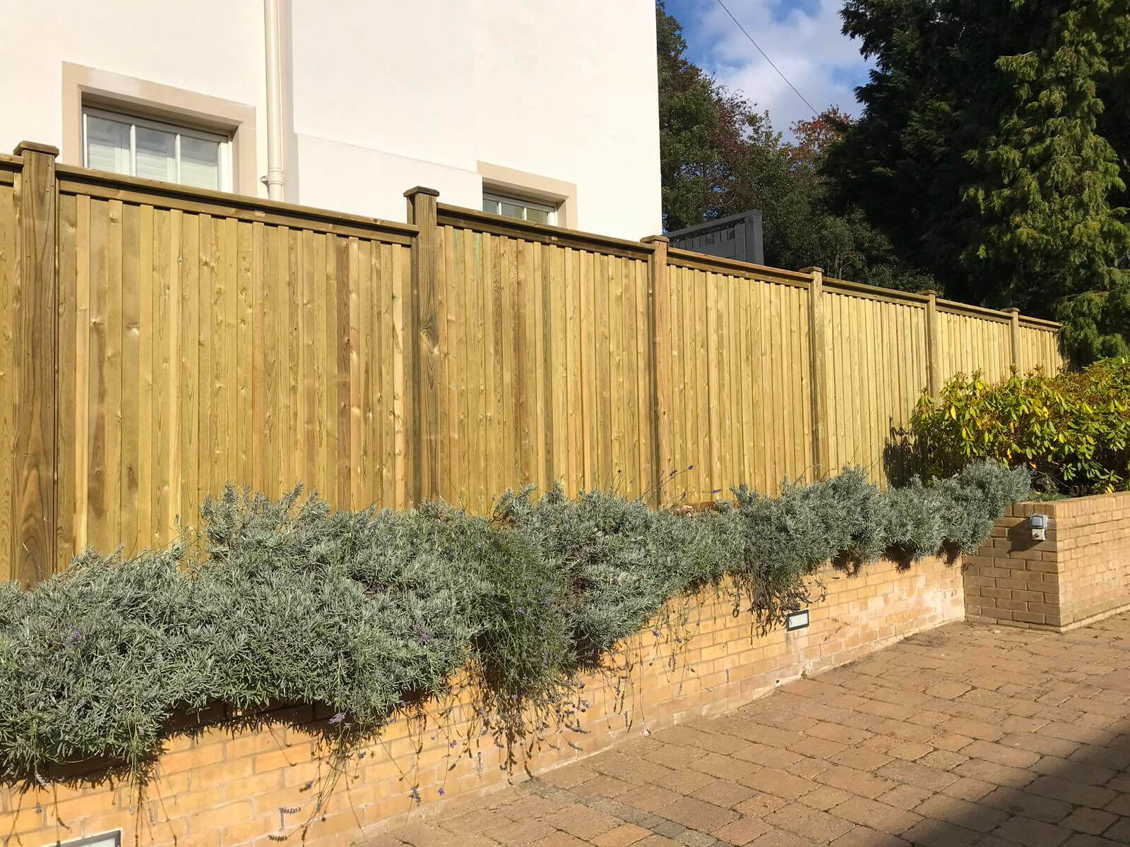 Premium fence panels - Chilham