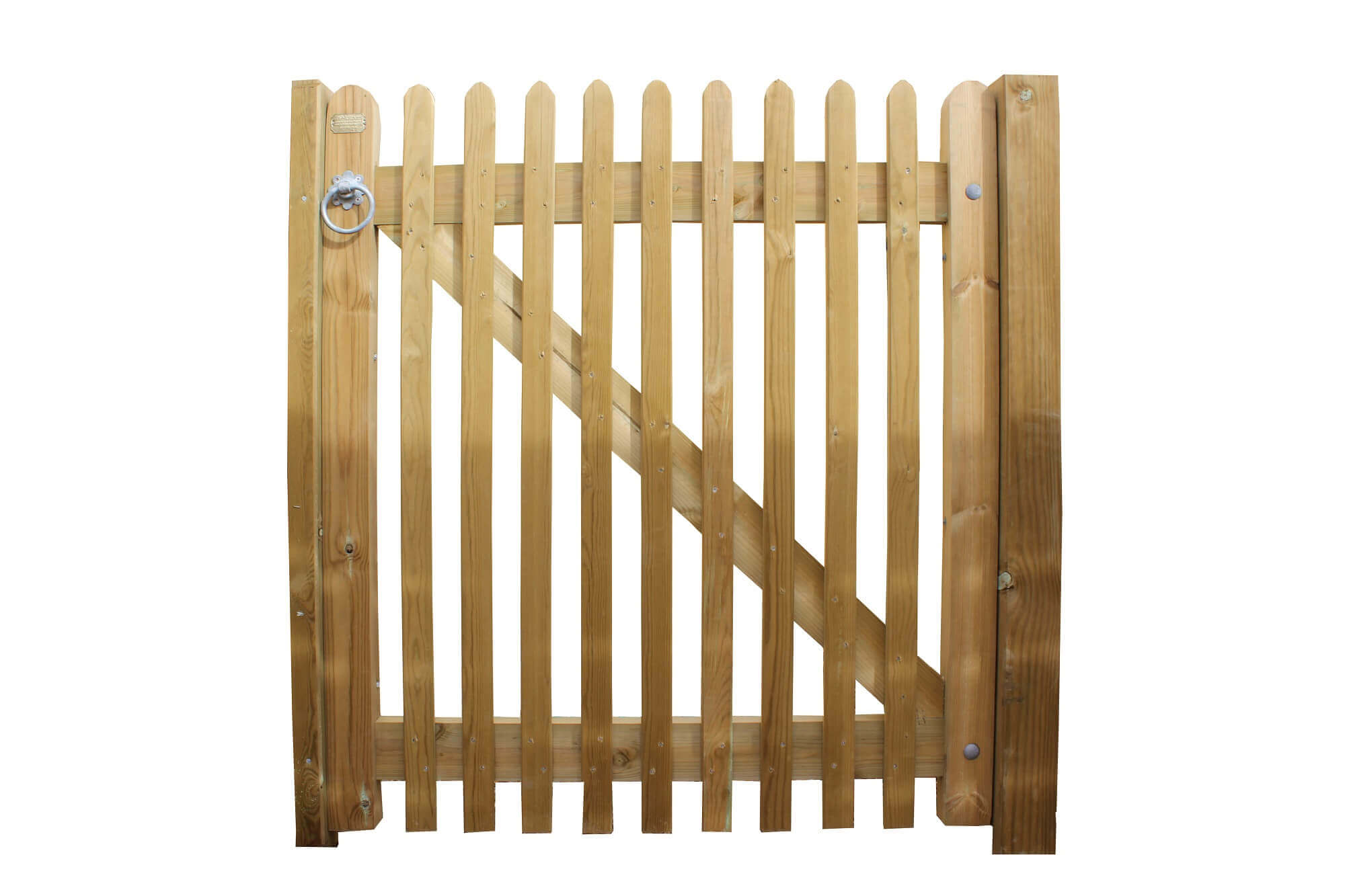 Hanging gates with their own hands: drawings, hanging gates