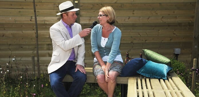 Joe Swift talks to garden designer Helen