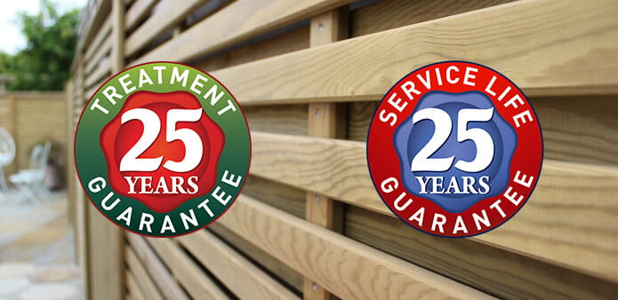 Jacksons 25 year guarantee