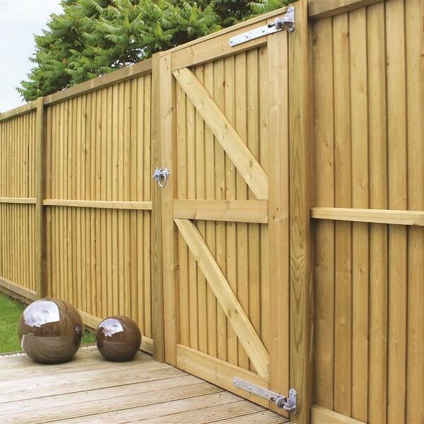 Wooden Garden Gates Nice Ideas
