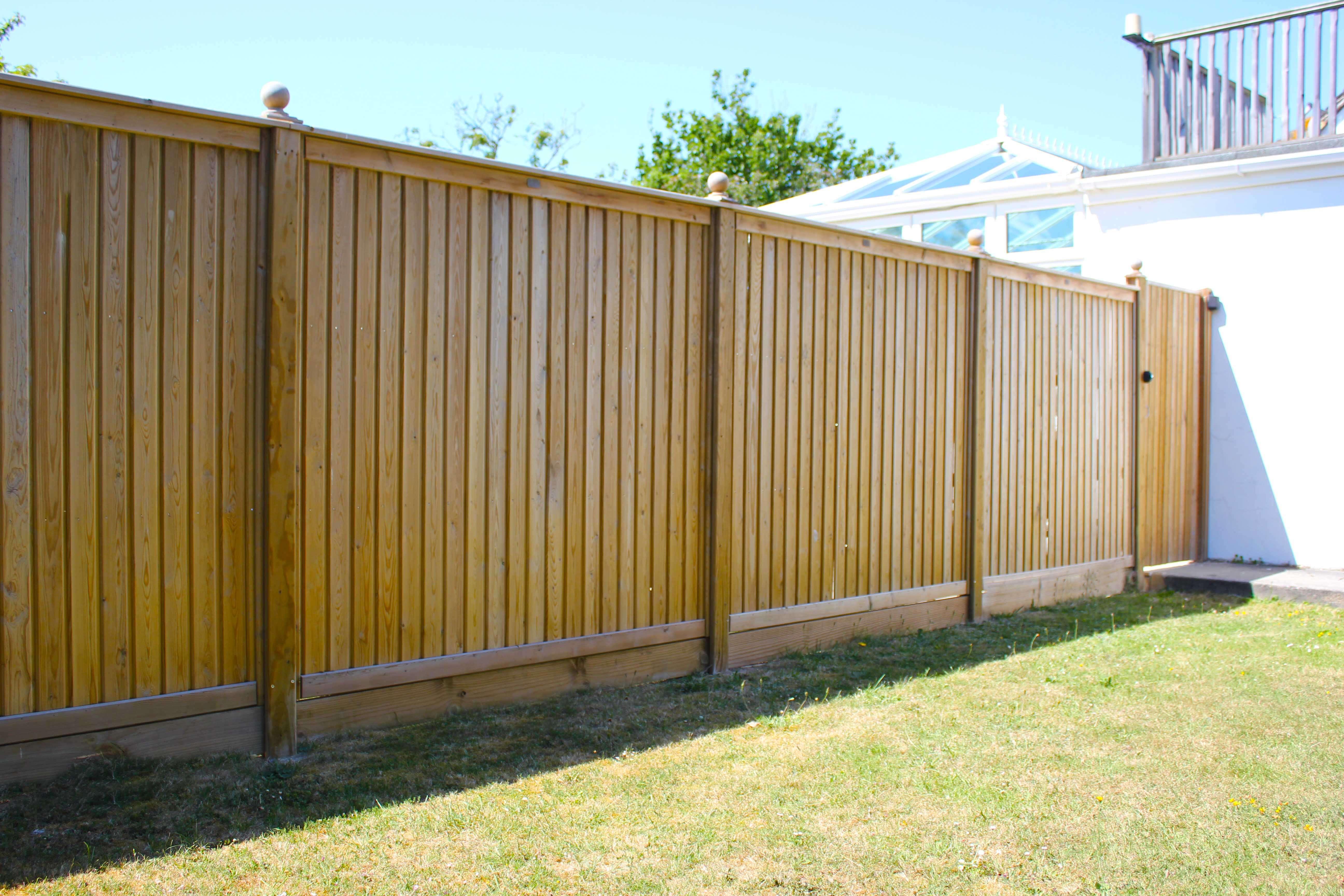 Shiplap Fencing Panels