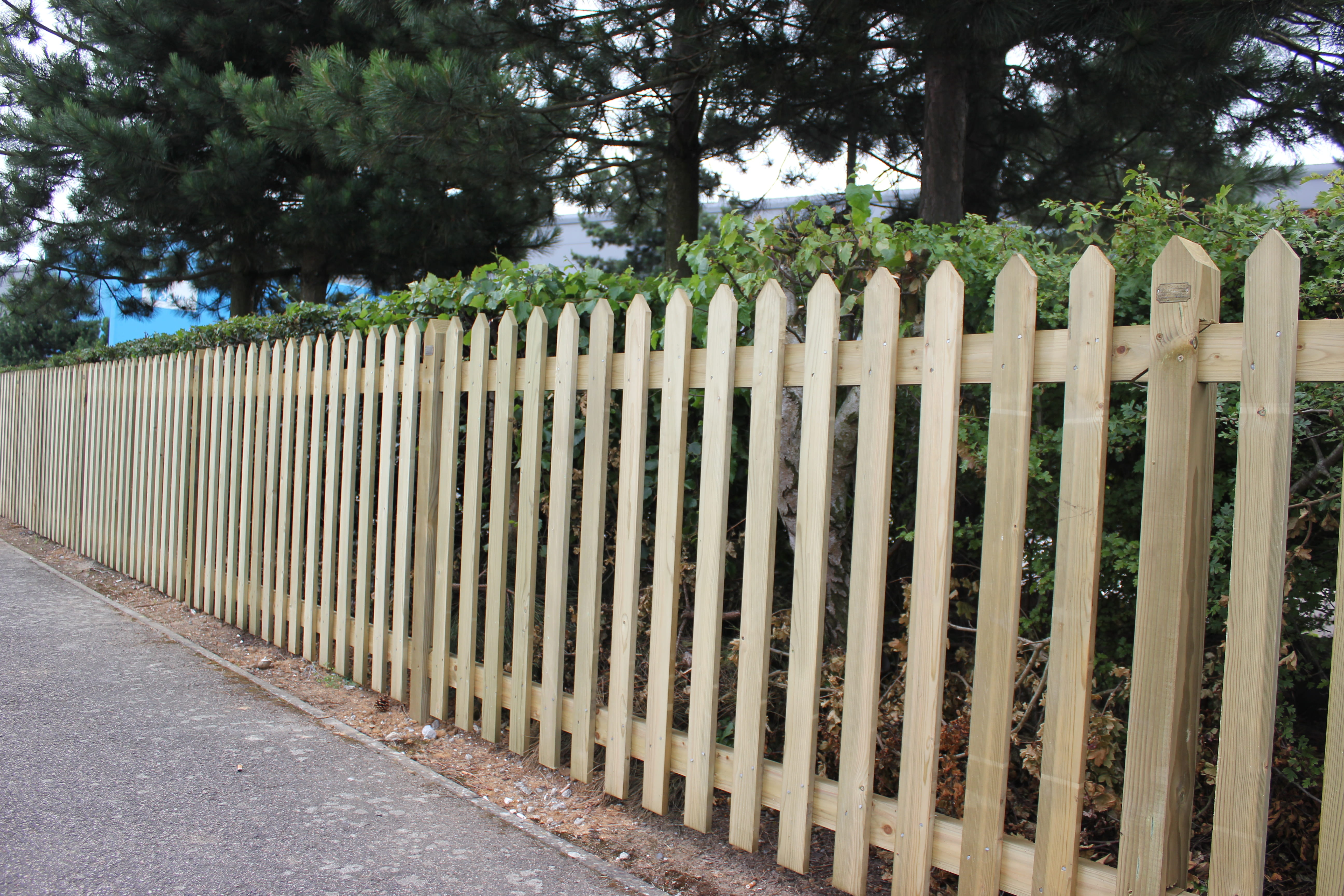 Paling Fence Designs Picket fencing jacksons fencing traditional picket fencing workwithnaturefo